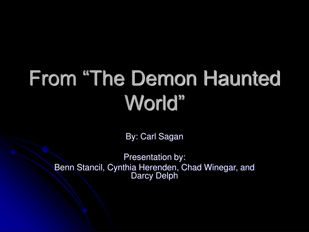 from the demon haunted world l.