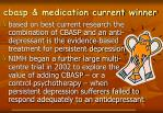 cbasp medication current winner