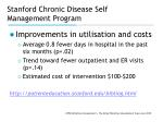 stanford chronic disease self management program11