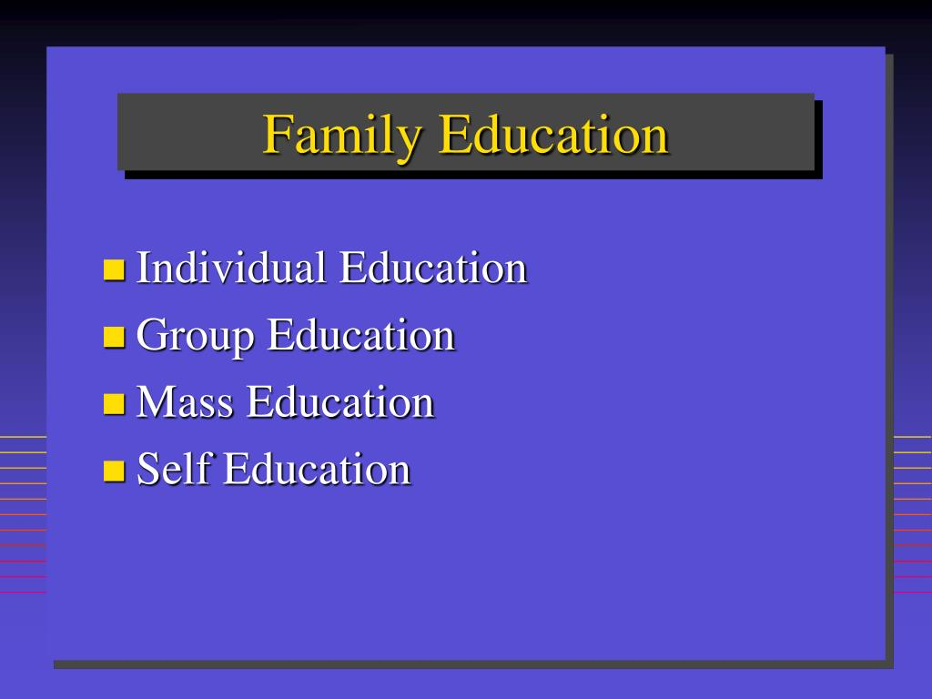 Family Education