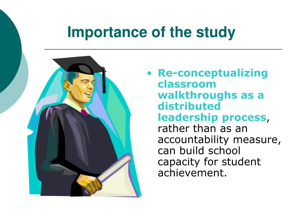 Importance of the study