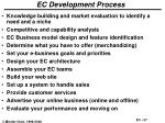 ec development process