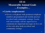 st 11 measurable annual goals examples67