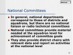 national committees