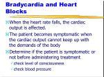 bradycardia and heart blocks