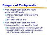 dangers of tachycardia