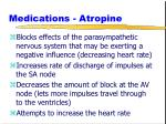 medications atropine