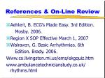 references on line review