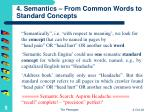 4 semantics from common words to standard concepts
