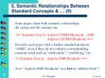 5 semantic relationships between standard concepts ii
