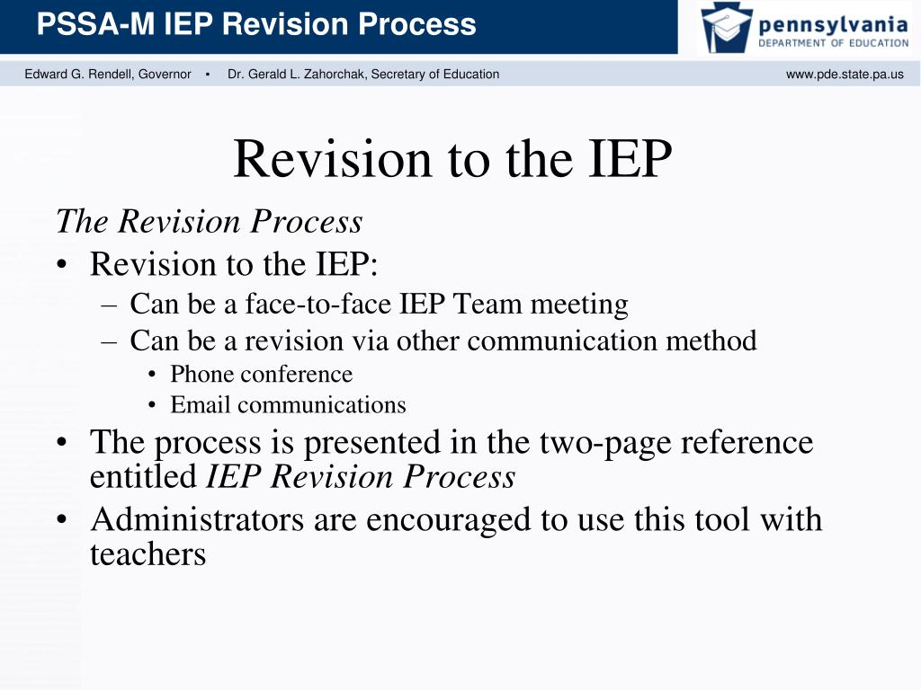 The Revision Process