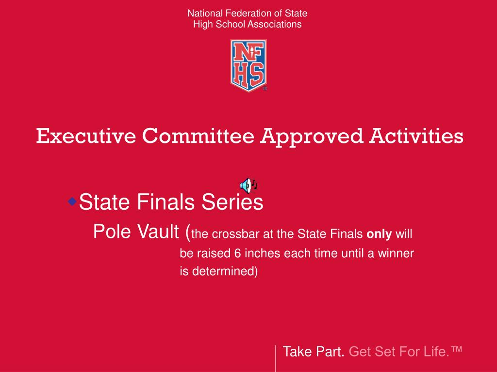 Executive Committee Approved Activities