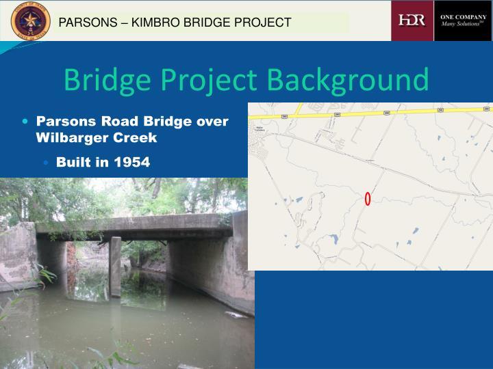 Bridge project background