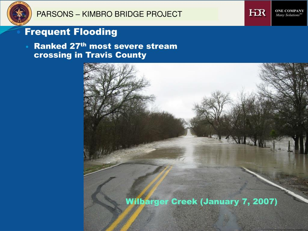 Frequent Flooding