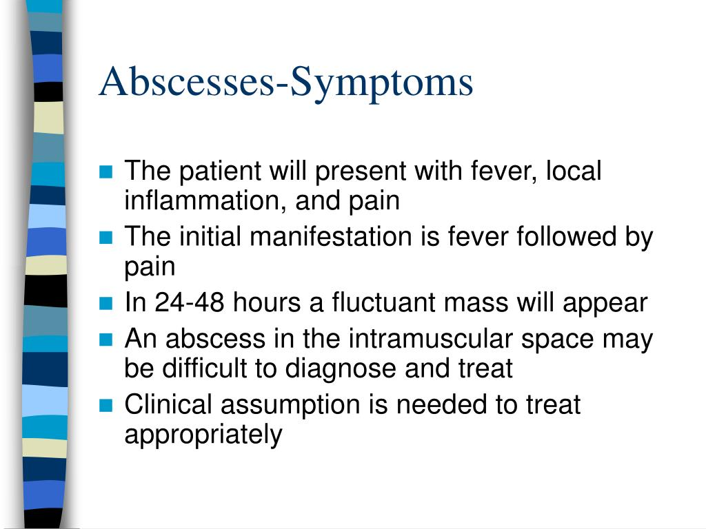 Abscesses-Symptoms