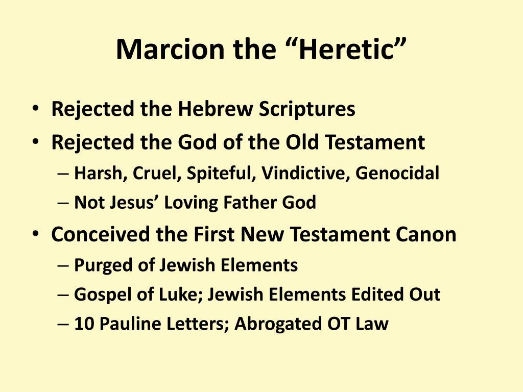 Who was marcion