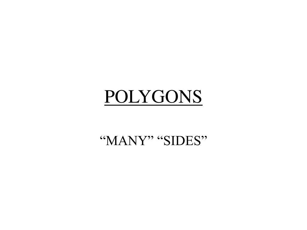 polygons l.