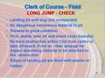 long jump check