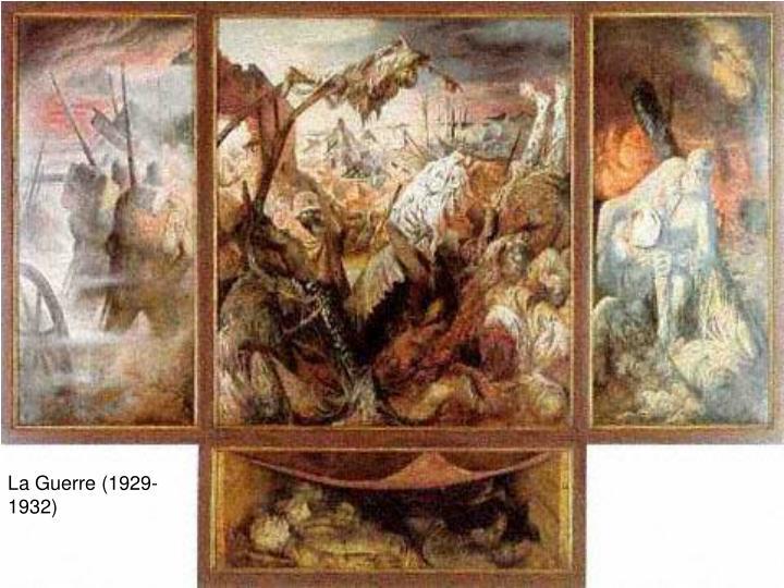 Ppt Etude De Peinture Pragerstrasse Par Otto Dix Powerpoint Presentation Id 473521