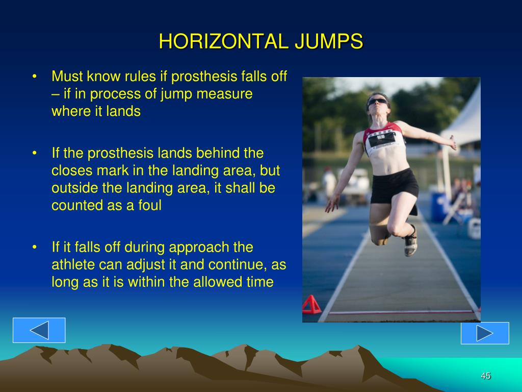 HORIZONTAL JUMPS