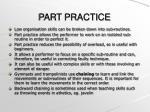 part practice