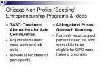 chicago non profits seeding entrepreneurship programs ideas18