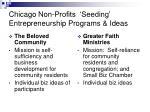 chicago non profits seeding entrepreneurship programs ideas19