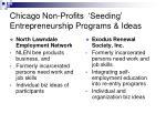 chicago non profits seeding entrepreneurship programs ideas20