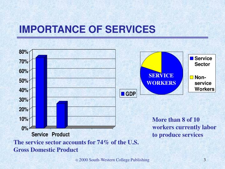 Importance of services3