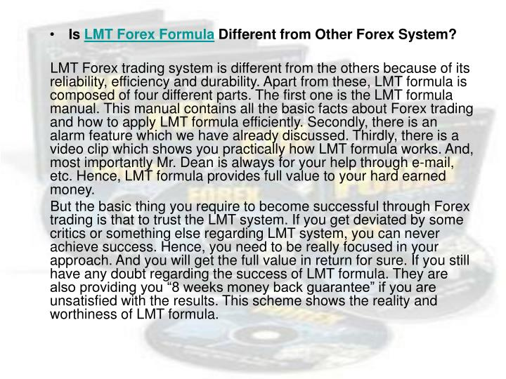 Lmt trading system