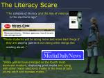 the literacy scare