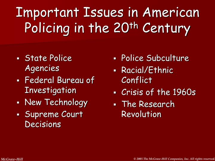 an analysis of corruption in policing as one of the most persistent problem in american policing Chart and diagram slides for powerpoint - beautifully designed chart and diagram s for powerpoint with visually stunning graphics and animation effects our new crystalgraphics chart and diagram slides for powerpoint is a collection of over 1000 impressively designed data-driven chart and editable diagram s guaranteed to impress any audience.