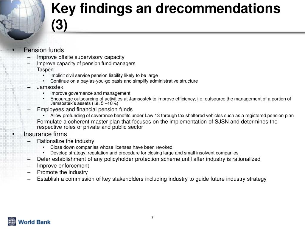 Key findings an drecommendations (3)