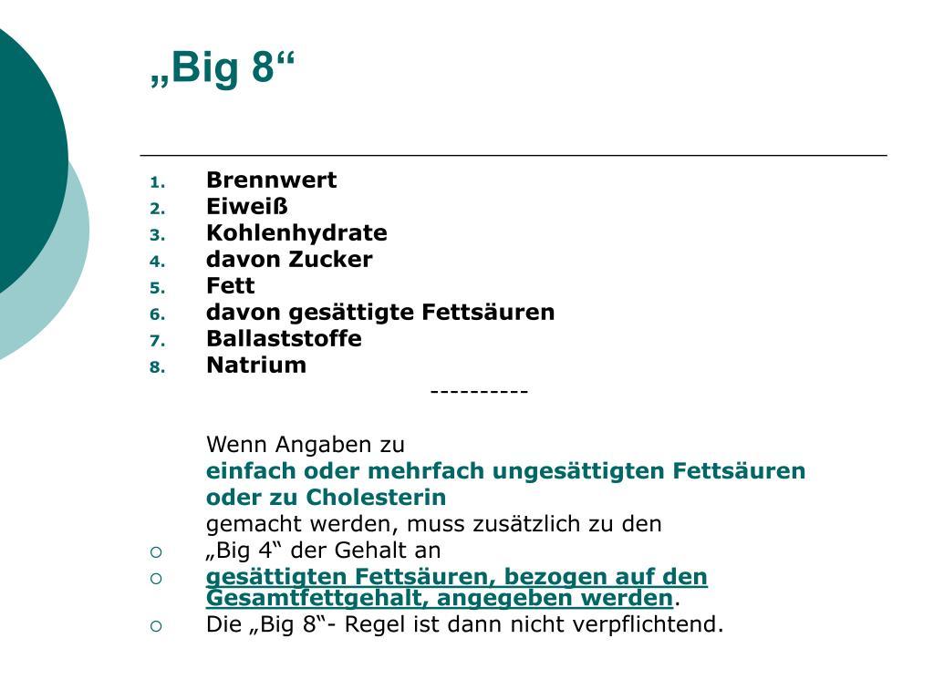 """""""Big 8"""""""