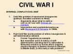civil war i