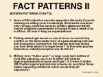 fact patterns ii