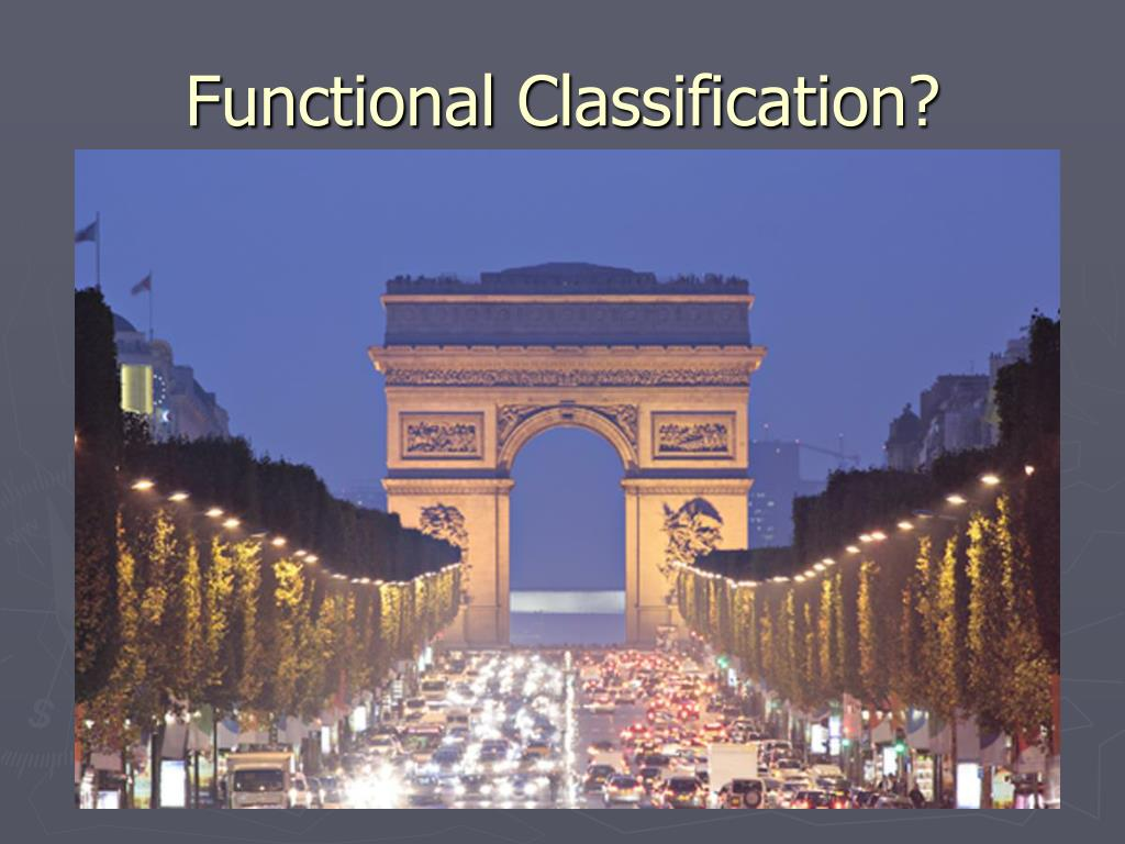 Functional Classification?