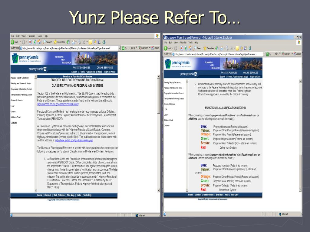 Yunz Please Refer To…