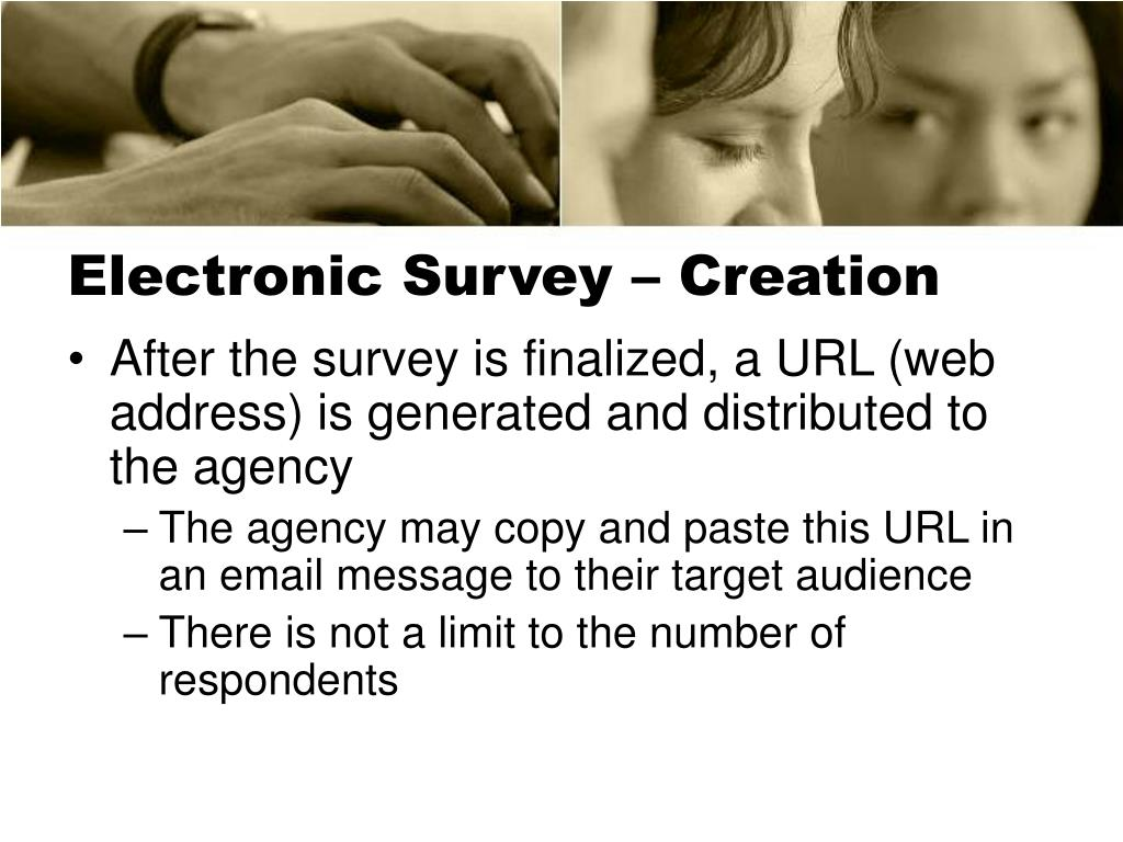 Electronic Survey – Creation