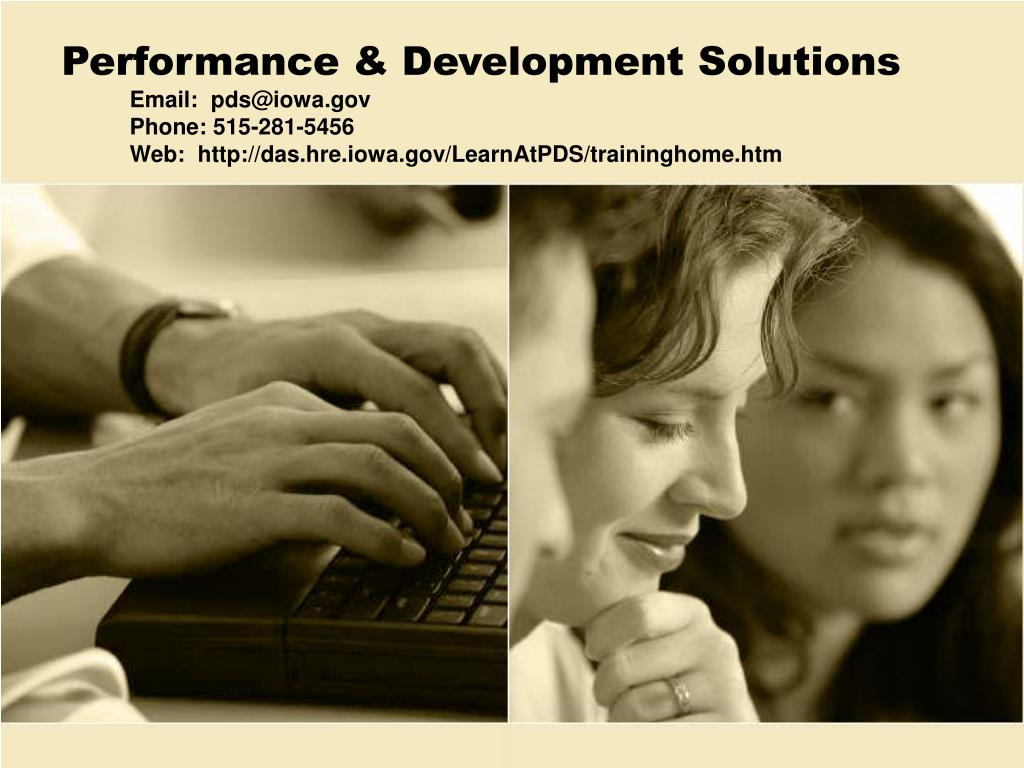 Performance & Development Solutions