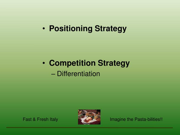 Positioning Strategy