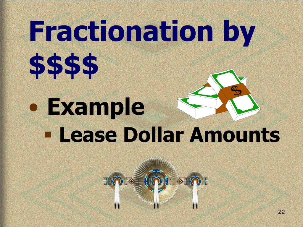 Fractionation by $$$$