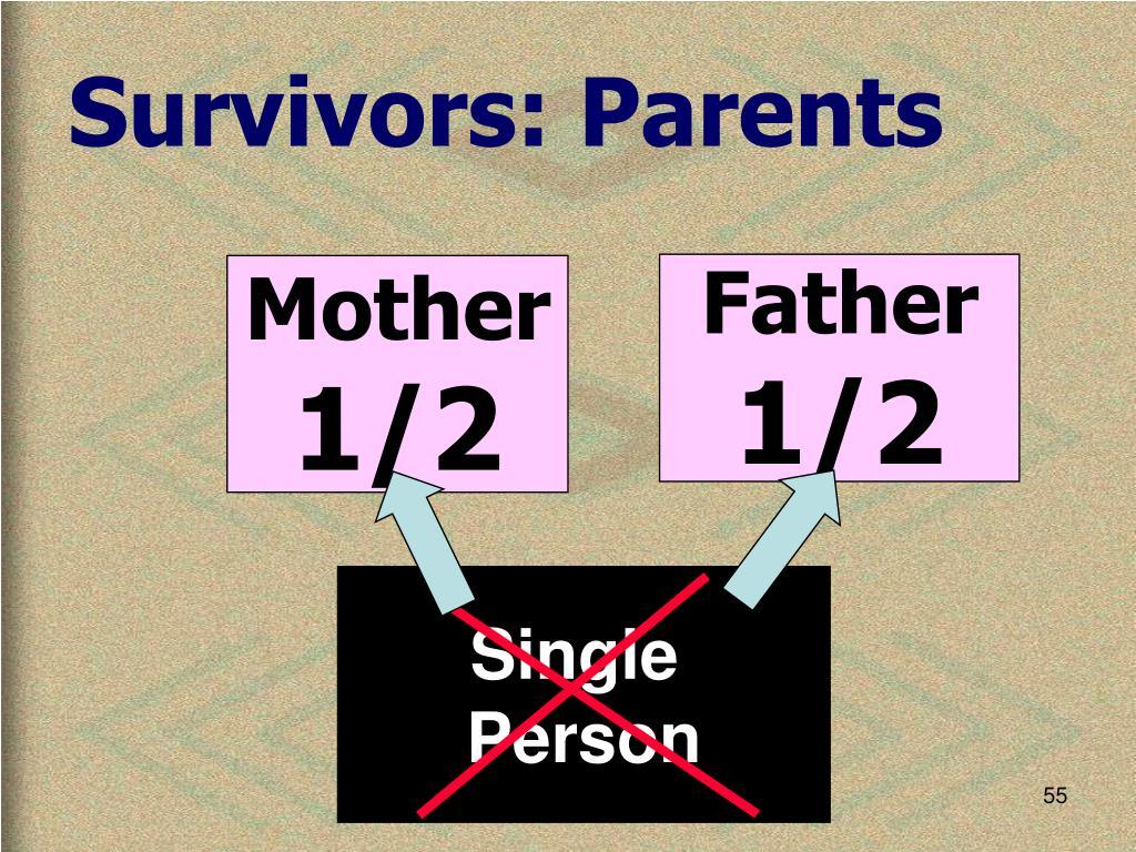 Survivors: Parents