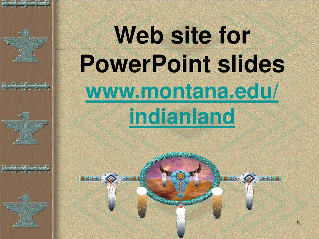Web site for PowerPoint slides