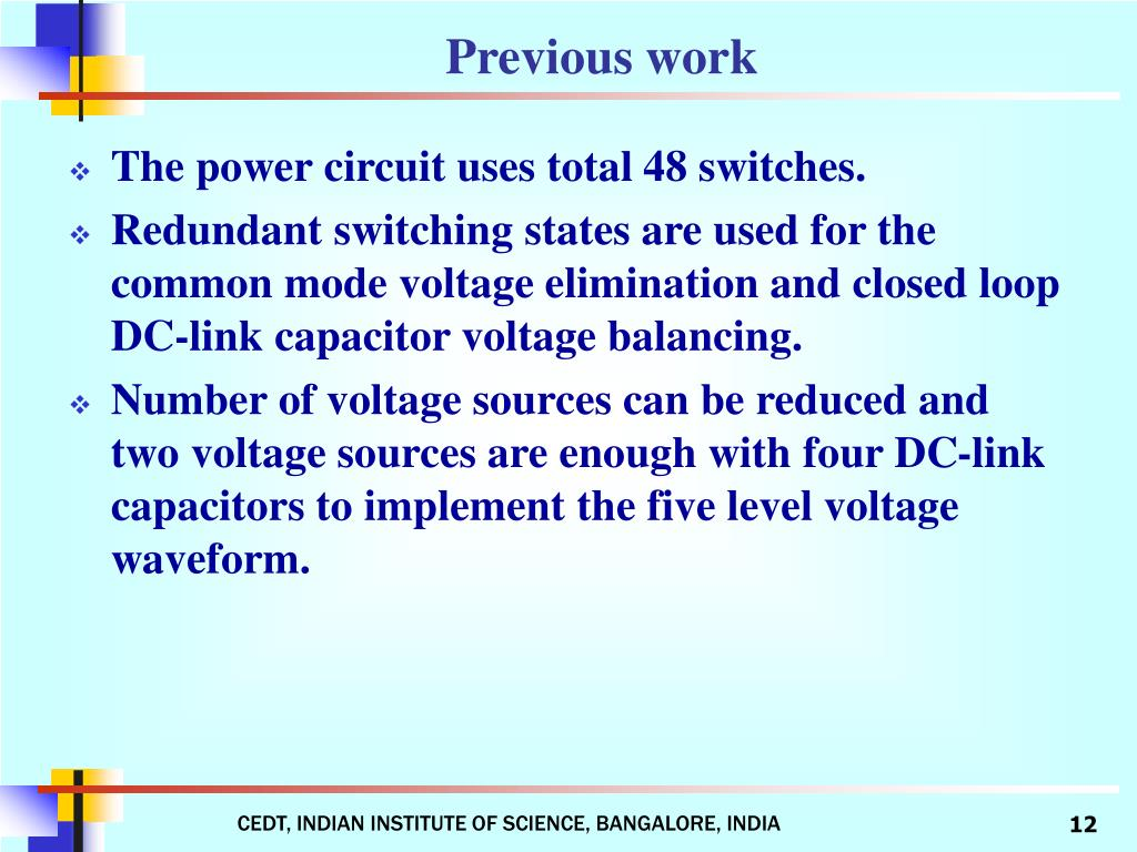 The power circuit uses total