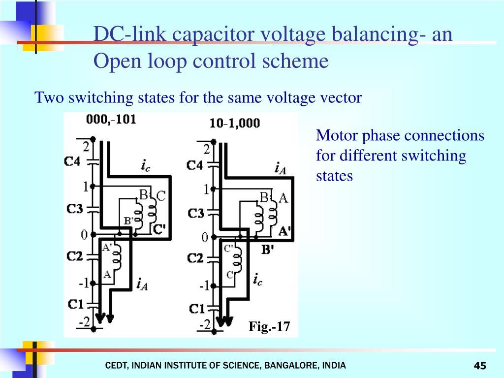DC-link capacitor voltage balancing- an Open loop control scheme