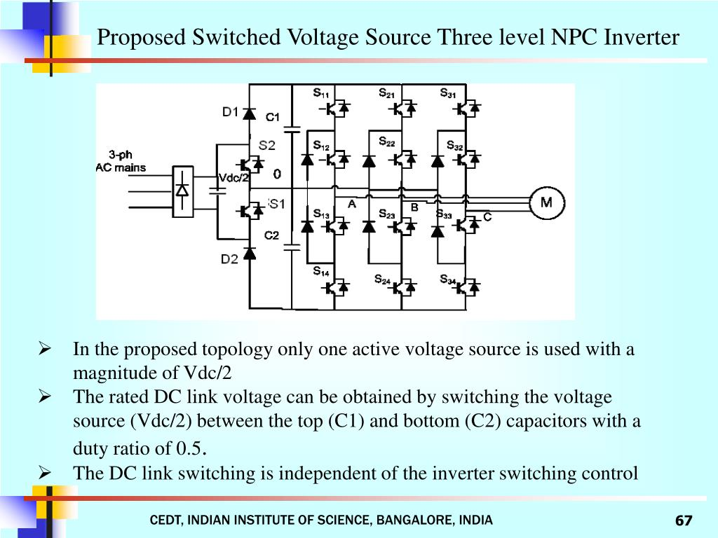 Proposed Switched Voltage Source Three level NPC Inverter
