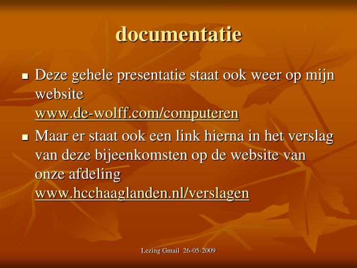 Documentatie