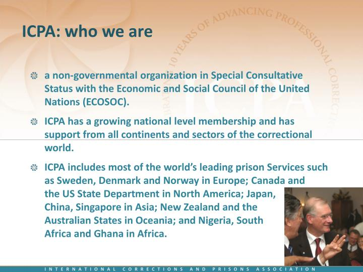 ICPA: who we are