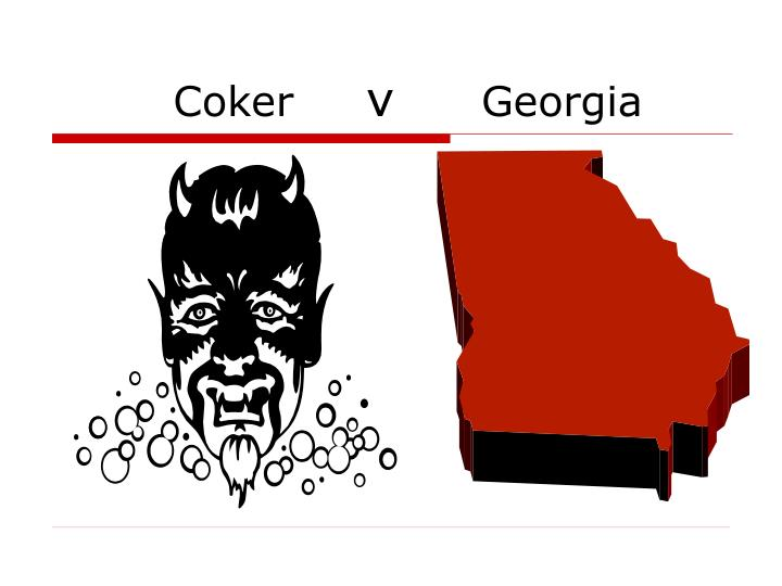 coker v georgia n.